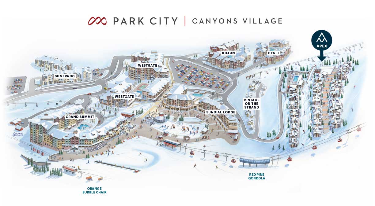 Introducing Park City's newest ski in/ski out development on